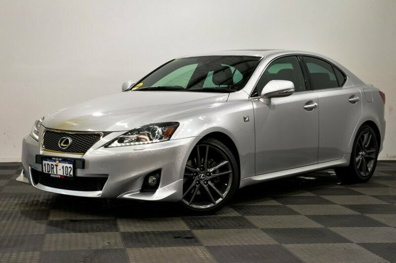 2011 lexus is250 f sport sedan silver used car j3415 easyauto123. Black Bedroom Furniture Sets. Home Design Ideas