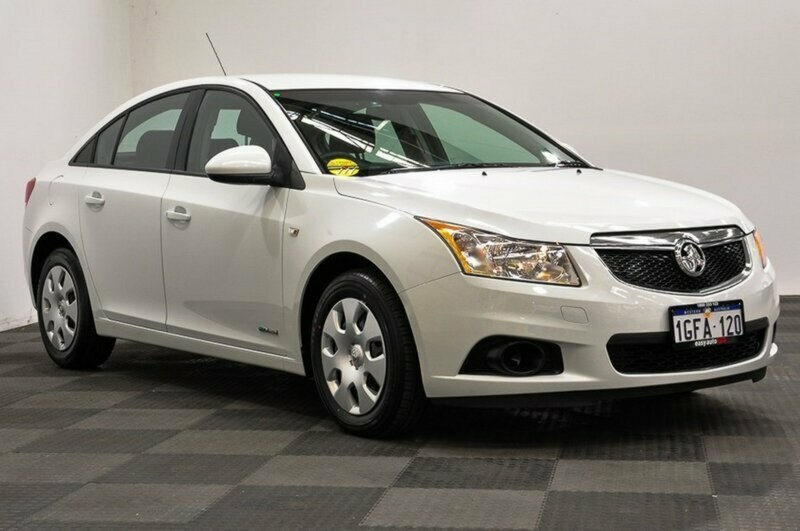 2011 Holden Cruze Cd Sedan White Used Car J3109