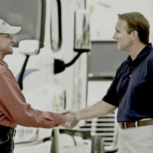 Freightliner Finance at Orange Freightliner