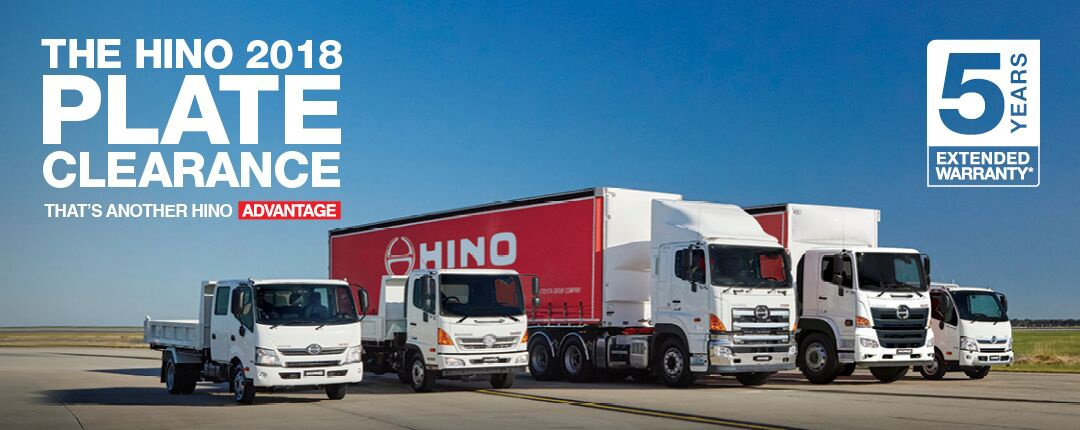 2017 Plate Clearance at Bendigo Hino