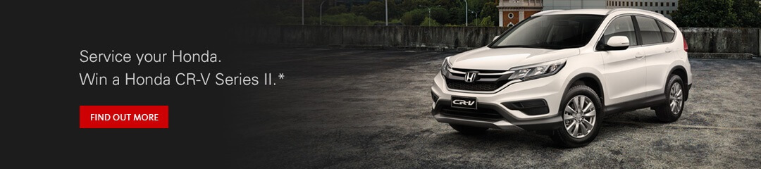 Win a Honda CR-V Series II