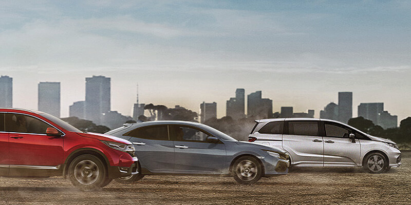 New Honda Vehicles from Dave Potter Honda