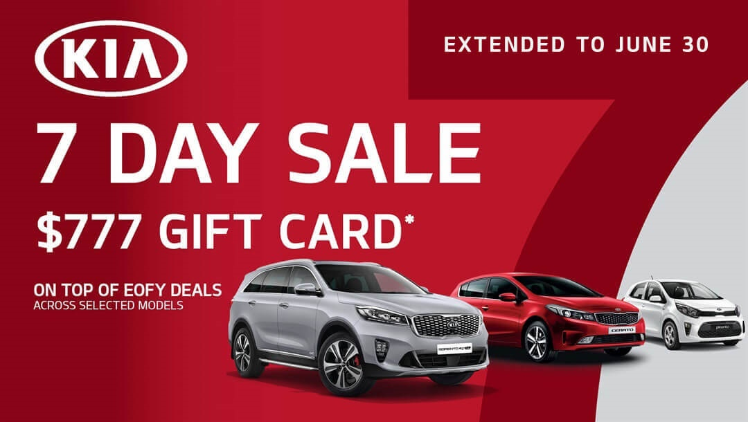 7 Day Sale Offers At Chadstone Kia