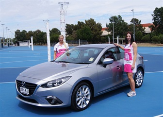 Mazda Joins the Adelaide Thunderbirds in ... | News at Nowra Mazda