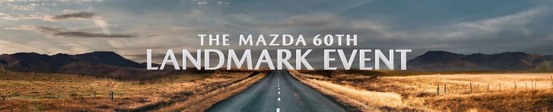 Mazda 60th Landmark Event Hero