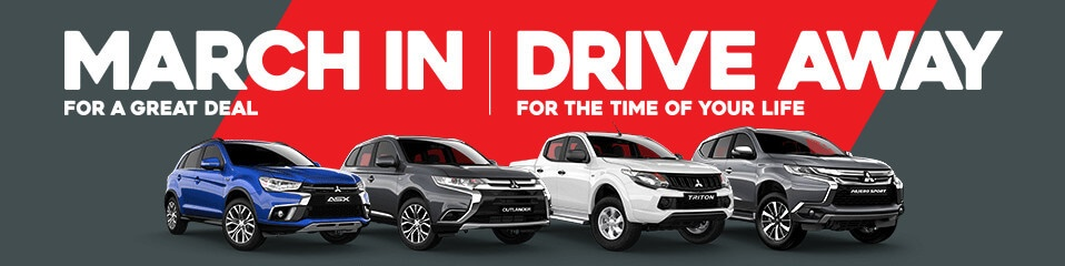 March In For A Great Deal At South Nowra Mitsubishi