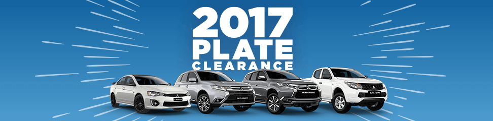 2017 Plate Clearance Offer Now On At Motorama Mitsubishi