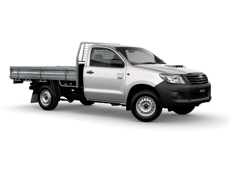 toyota hilux 4x2 workmate 2.7 l petrol manual