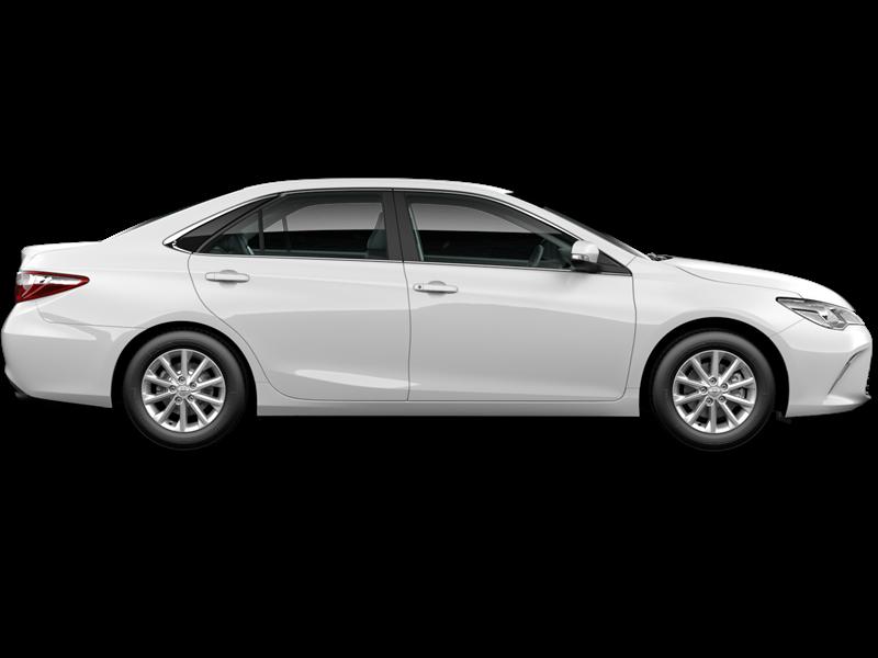 2016 Toyota Camry (Diamond White) Demo Car 7654089 - Big Rock Toyota