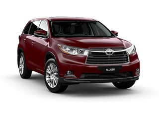 2015 Toyota Kluger Grande Awd Wagon (Deep Red) New Car Thumbnail
