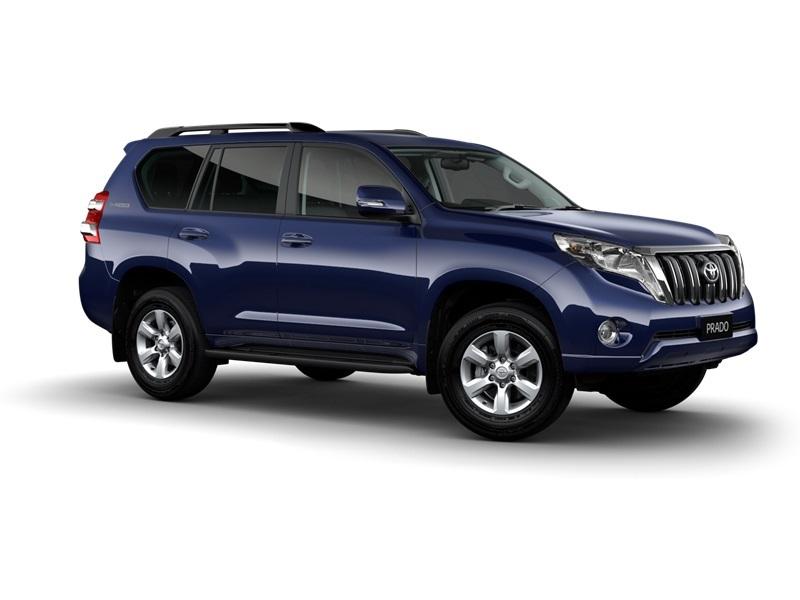 Dynamic Blue Prado Wagon Dynamic Blue New