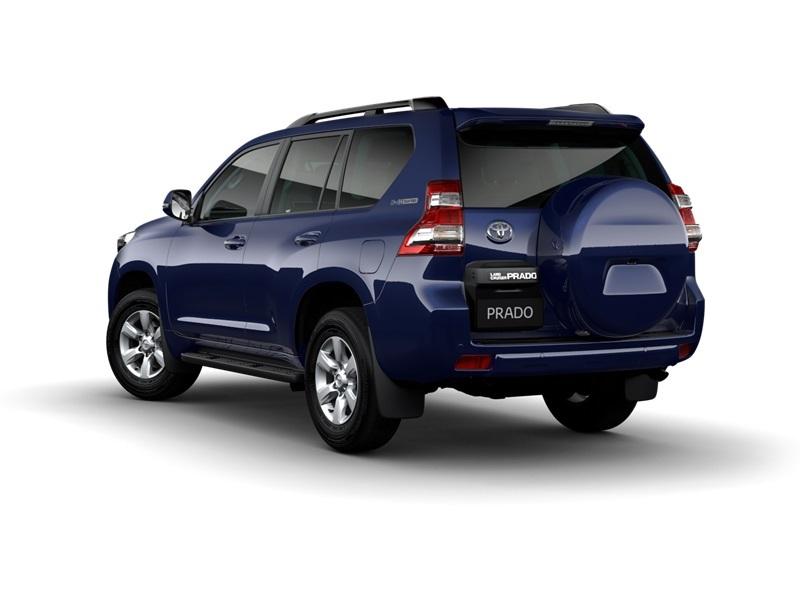 Dynamic Blue Prado Gxl Wagon Dynamic Blue