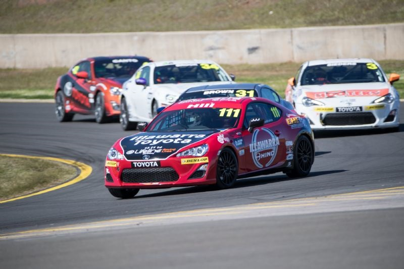 Toyota 86 Racing Series Ups The Pace At News At Nowra Toyota