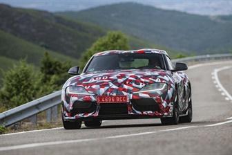 Toyota S Supra Legend Returns To News At Mildura Toyota