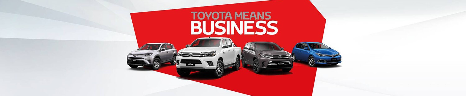 Toyota Means Business at Kalamunda Toyota