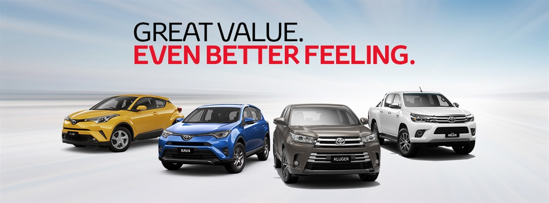Great Value. Even Better Feeling at Hinterland Toyota