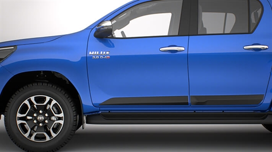 Toyota hilux accessories city toyota commercial steel bull bar mozeypictures Gallery