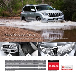 Toyota Prado from Peter Kittle Toyota - Port Lincoln