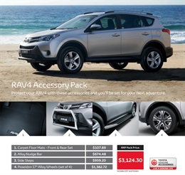 Toyota Rav4 from Tamworth City Toyota