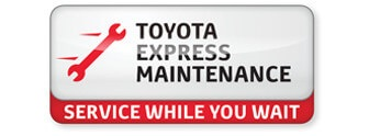 Noble Toyota Express Maintenance