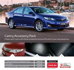 Toyota Camry from Tamworth City Toyota