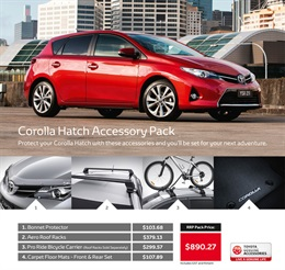 Toyota Corolla from Maryborough Toyota