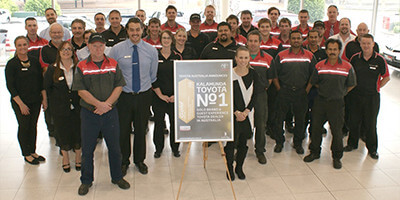 Team at Kalamunda Toyota