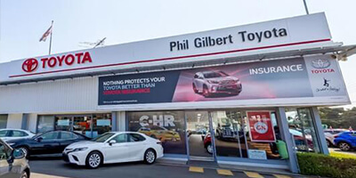 Phil Gilbert Toyota Virtual tour