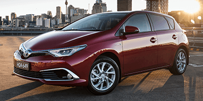 All-New Toyota Corolla Hybrid at Terry Shields Toyota