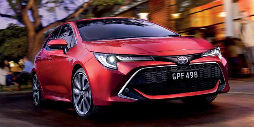 New Toyota Vehicles from Mosman Toyota