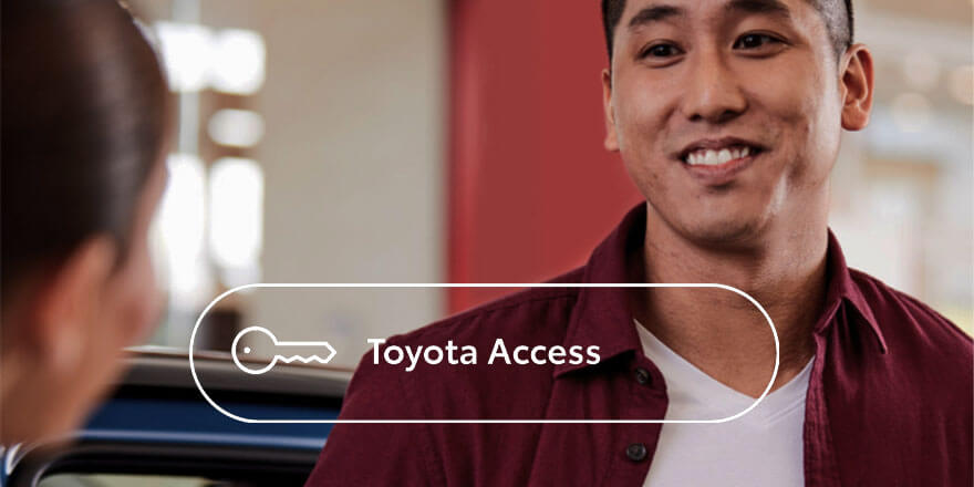 Toyota Access - A Smarter Way to Buy from Hayes Toyota