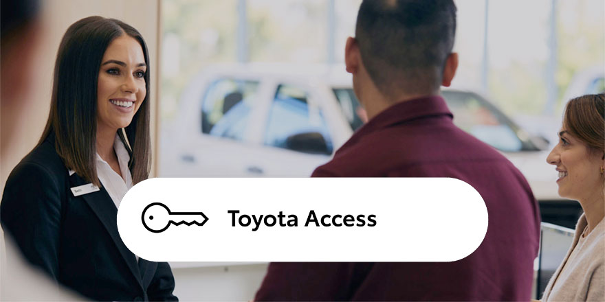 Toyota Access - A Smarter Way to Buy from Bundaberg Toyota