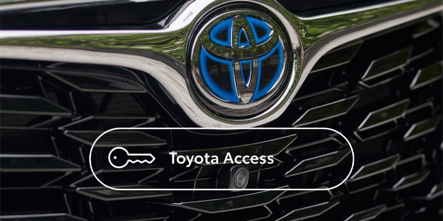 Toyota Access - A Smarter Way to Buy