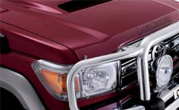 Peter Kittle Toyota - Alice Springs LandCruiser 70 Bonnet Protector and Headlamp Covers