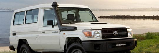 Peter Kittle Toyota - Alice Springs LandCruiser 70 Exterior Large Front Bumper