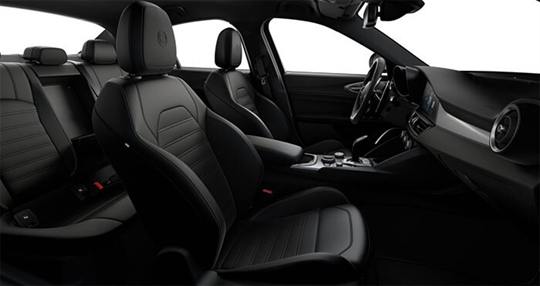 Black Sports Leather Interior - Cockpit