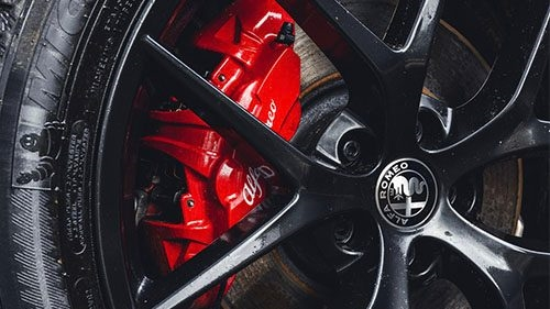 Red Brake Calipers