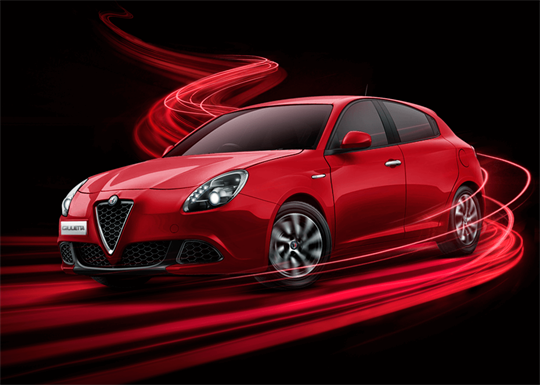 Giulietta at Brighton Alfa Romeo