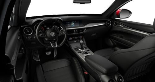 Veloce Sports Seats in Black Leather with Matching Trim 1