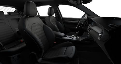 Veloce Sports Seats in Black Leather with Matching Trim 2
