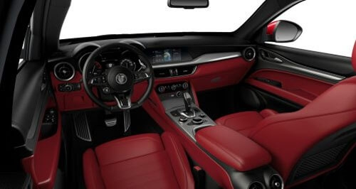 Veloce Sports Seats in Red Leather with Matching Trim 1