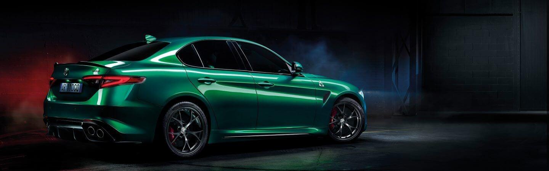 Alfa Romeo Giulia Quadrifoglio Styling - Rear
