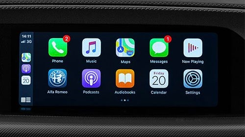Apple CarPlay® and Android Auto®