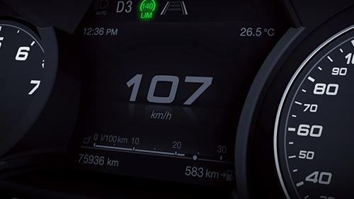 Intelligent Speed Control