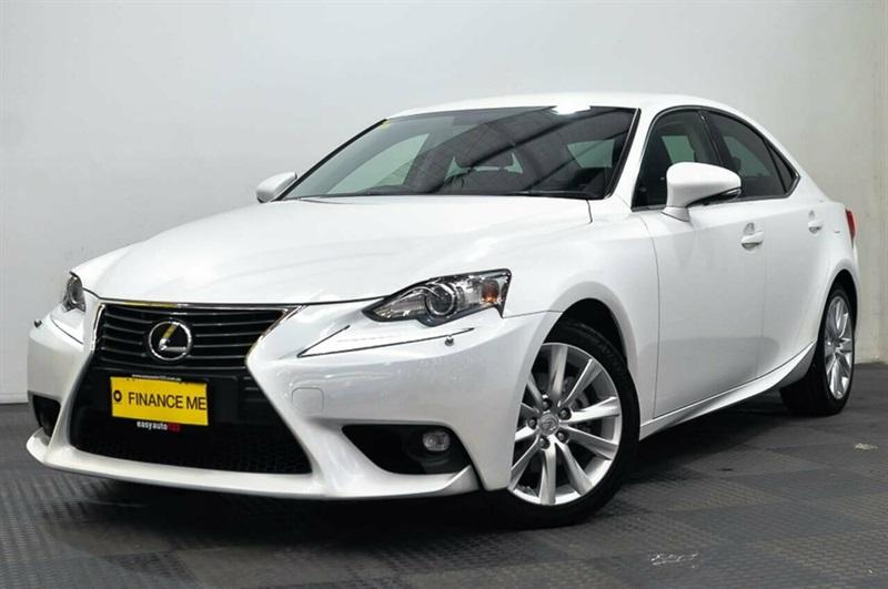2014 Lexus Is250 Luxury Sedan (White) Used Car