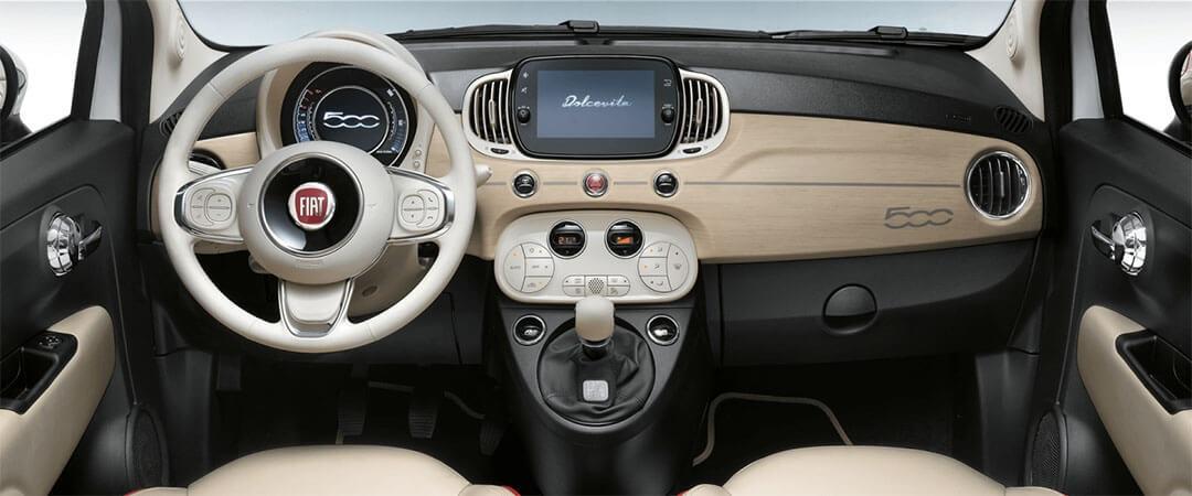 Fiat 500C Dolcevita Interior
