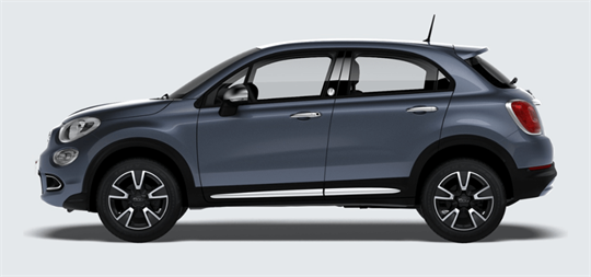 Introduction Fiat 500X Amalfi