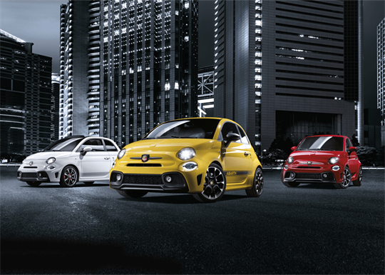 Abarth Special Offers From McCarroll's Fiat - Newcastle