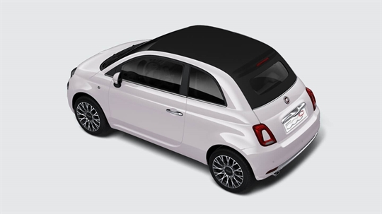 500C Club in Powder Pink with Black Roof
