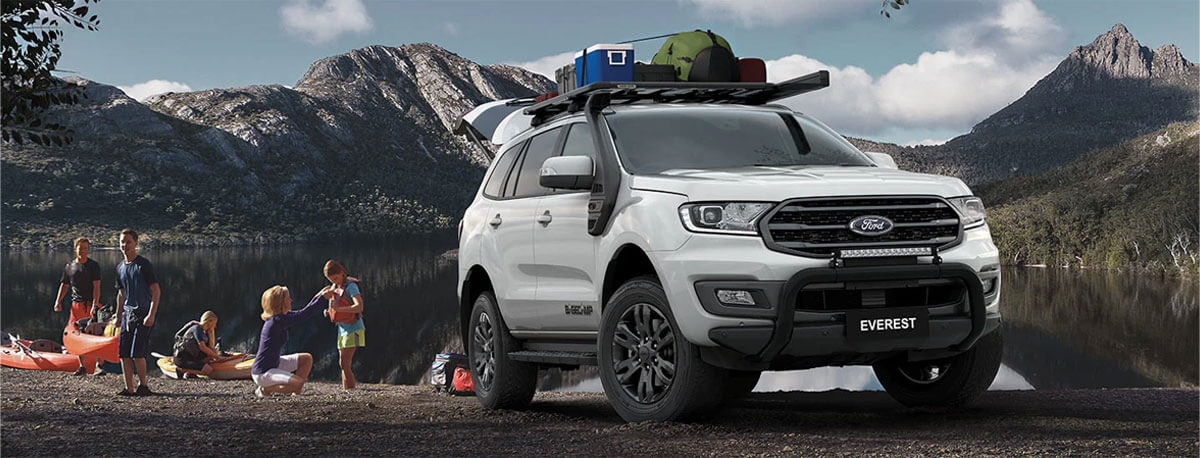 Ford Everest Technology